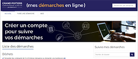 Grand Poitiers : Démarches en ligne