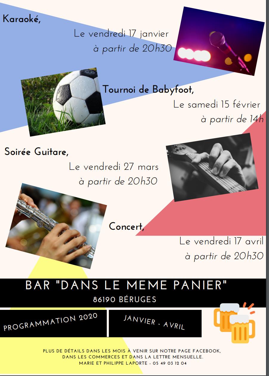 Bar Dans Le Même Panier : Tournoi de baby foot