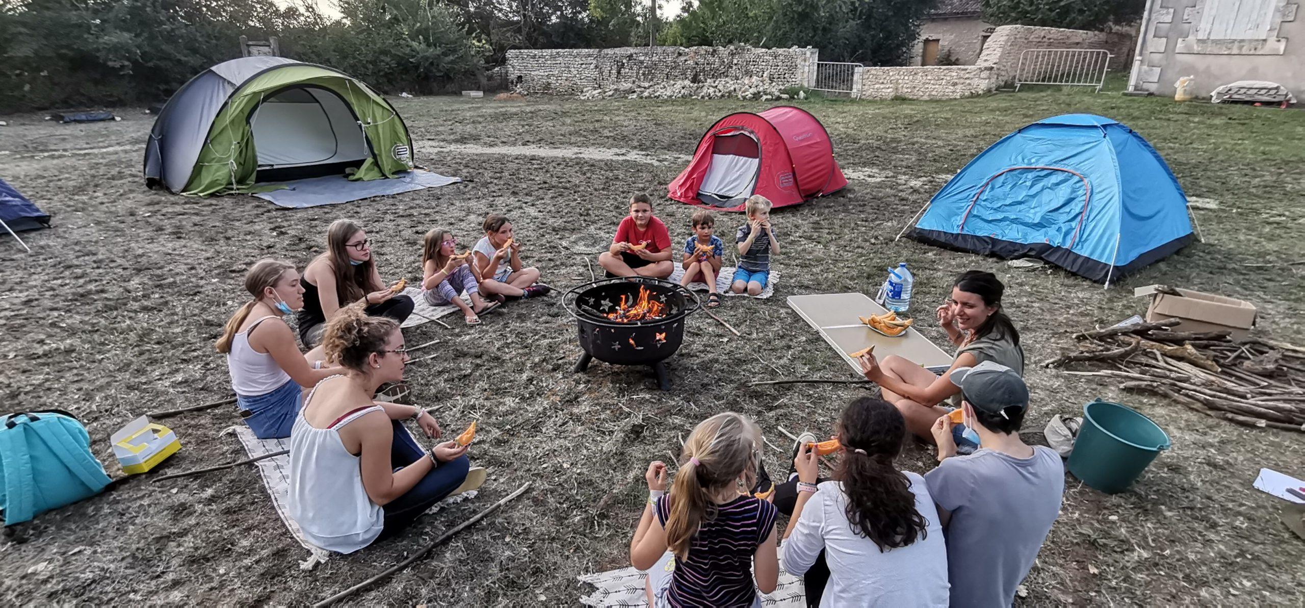 ALSH : Nuits campées cet été