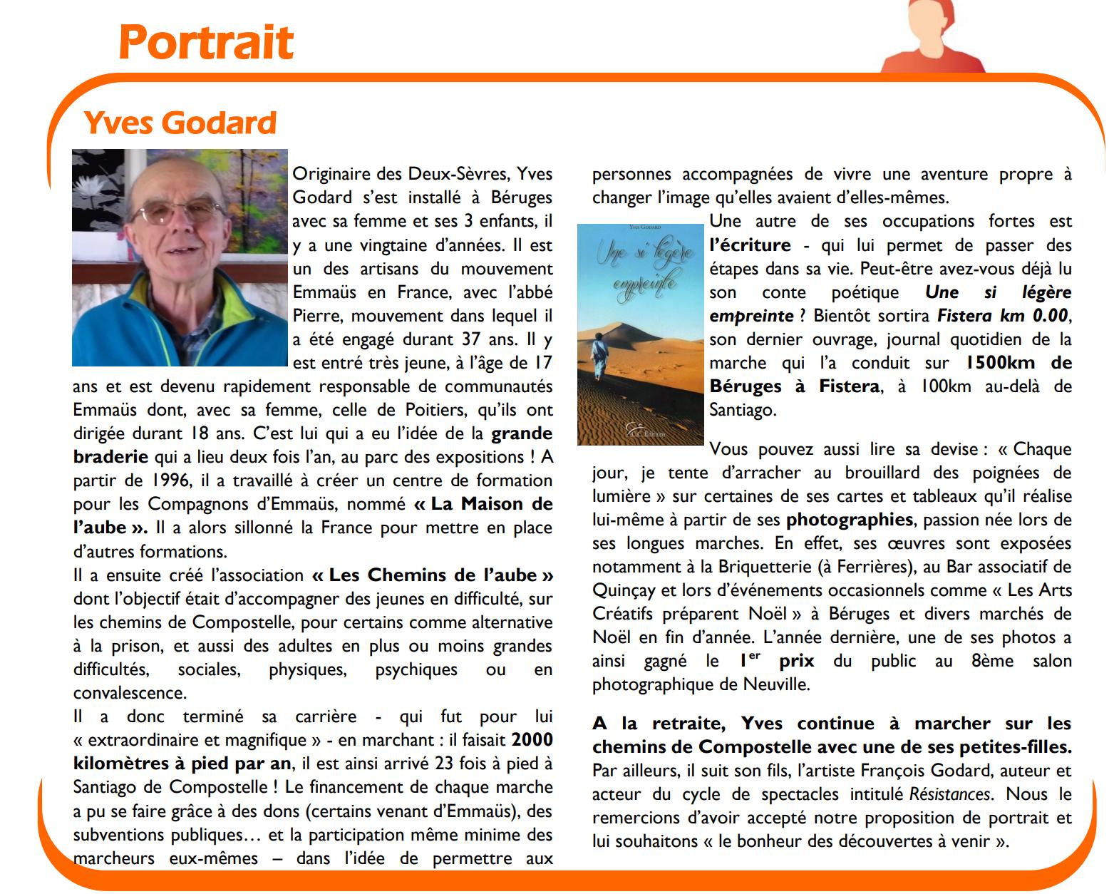 Parution du livre 'Fisterra km 0' d'Yves Godard