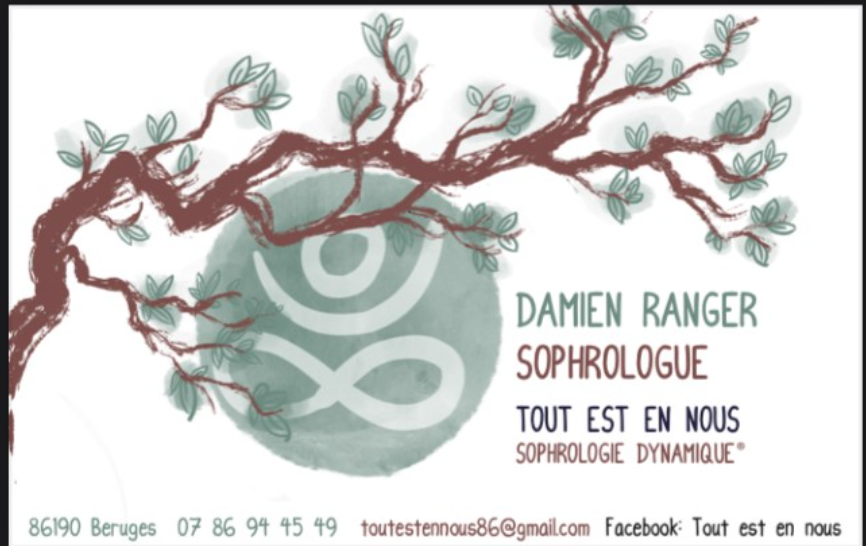 Damien Ranger : Ouverture cabinet Sophro