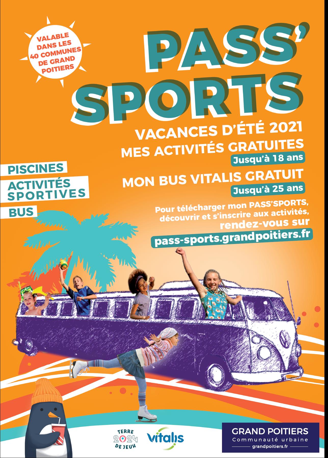 Pass Sports Eté 2021