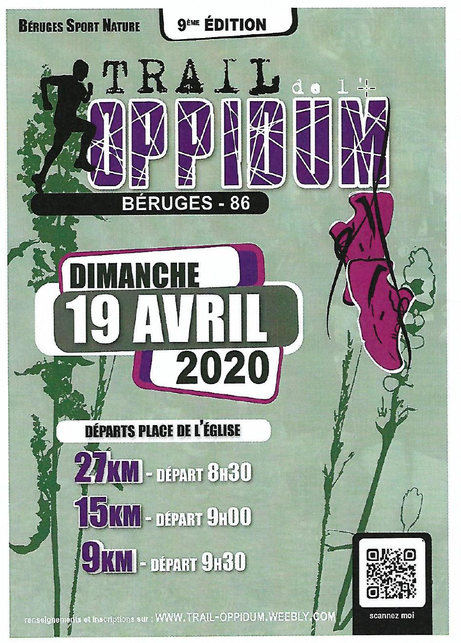 Trail Oppidum : annulé